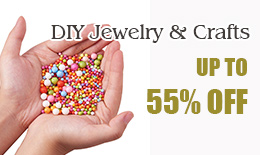 DIY Jewelry & Crafts up to 55% off