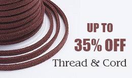 Thread & Cord up to 35% off