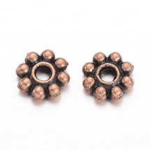 Flower Alloy Bead Spacers