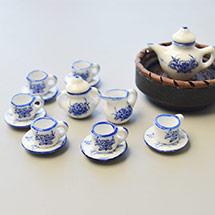 Porcelain Tea Set Decoration
