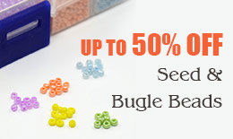 Seed & Bugle Beads up to 50% off