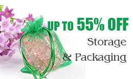 Storage & Packaging up to 55% off