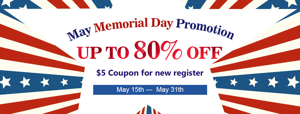 May Memorial Day Promotion