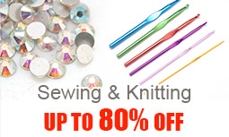 Sewing & Knitting Up To 80% OFF