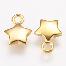 CCB Plastic Charms, Star