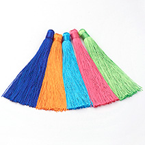 Nylon Tassels Big Pendant Decorations